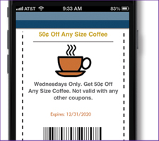 Use text messaging for coupons in Palm Beach FL