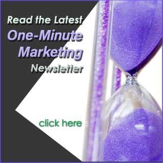 Monthly marketing newsletter